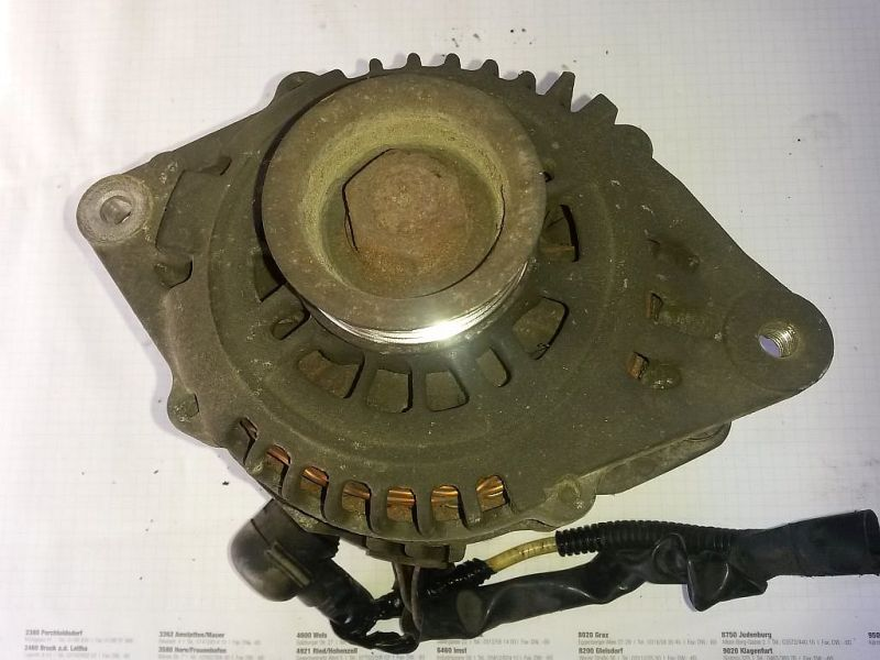 Lichtmaschine  MAZDA MX-5 II (NB) 1.6 16V CABRIO 81 KW