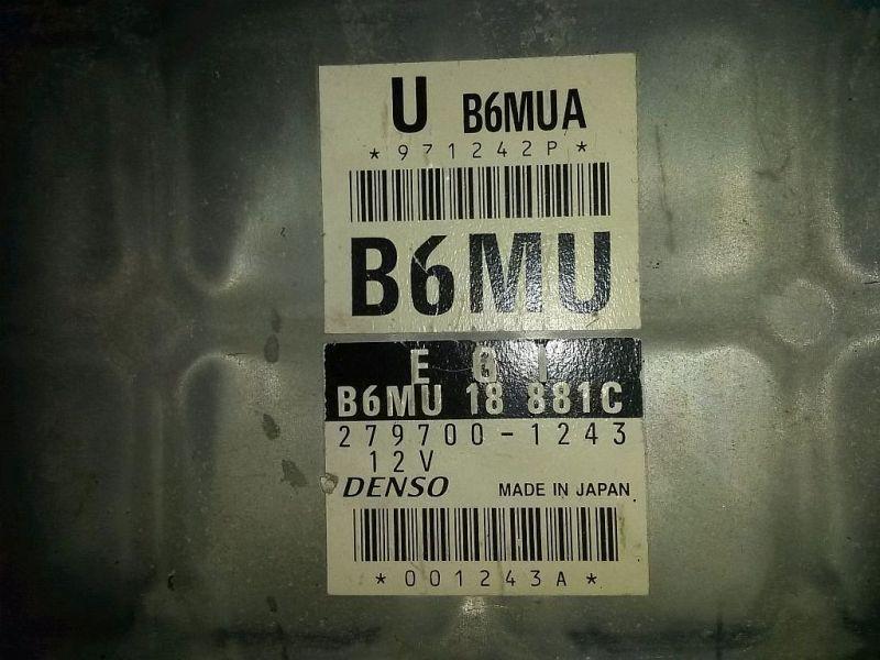 Steuergerät Motor  MAZDA MX-5 II (NB) 1.6 16V CABRIO 81 KW