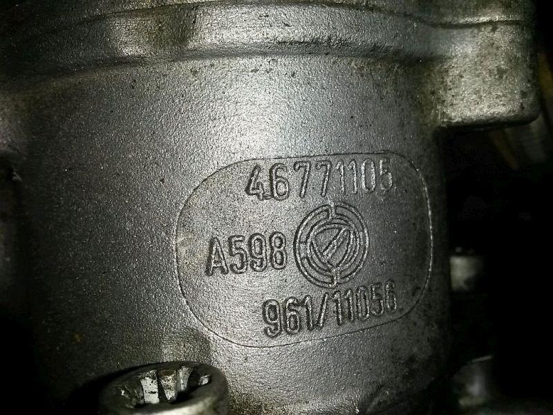 Vakuumpumpe Unterdruckpumpe Bremse FIAT PUNTO (188_) 1.9 DS 60 44 KW