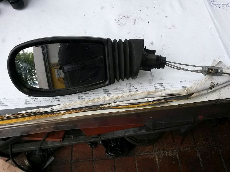Außenspiegel mechanisch Standard links  FIAT PUNTO (188_) 1.9 DS 60 44 KW