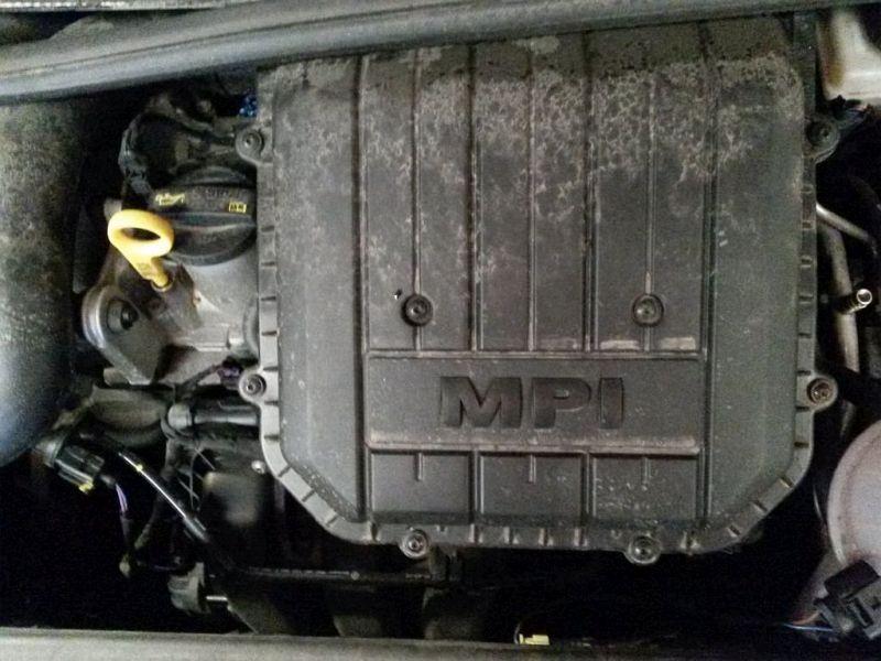Motor ohne Anbauteile  VW UP 1.0 44 KW