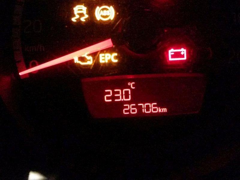 Tachometer Kombiinstrument VW UP 1.0 44 KW