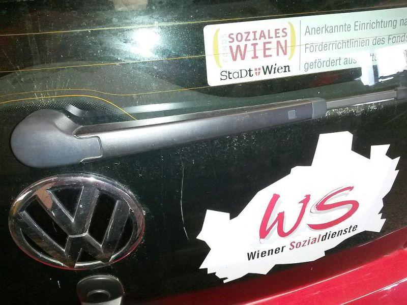 Wischerarm hinten  VW UP 1.0 44 KW