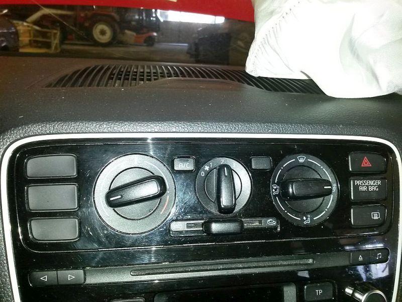 Bedienelement, Klimaanlage  VW UP 1.0 44 KW