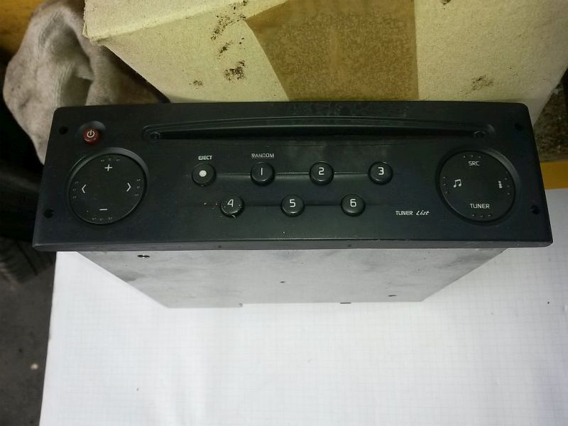 CD-Radio  RENAULT CLIO II (BB0/1/2_, CB0/1/2_) 1.5 DCI 48 KW