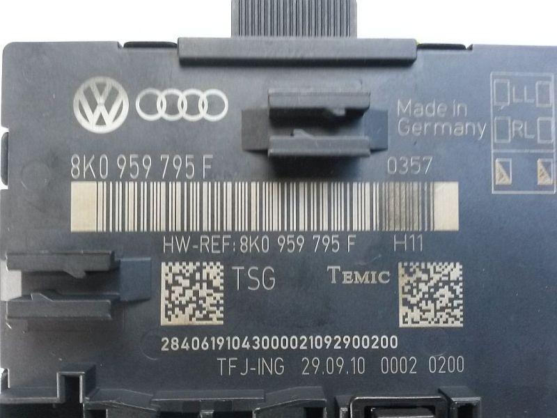 Steuergerät Türe rechts hinten Türsteuergerät AUDI A4 AVANT (8K5, B8) 2.0 TDI 105 KW