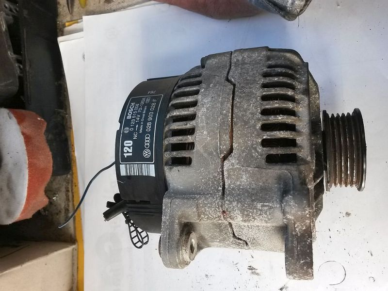 Lichtmaschine  AUDI A4 (8D2, B5) 1.9 TDI 66 KW