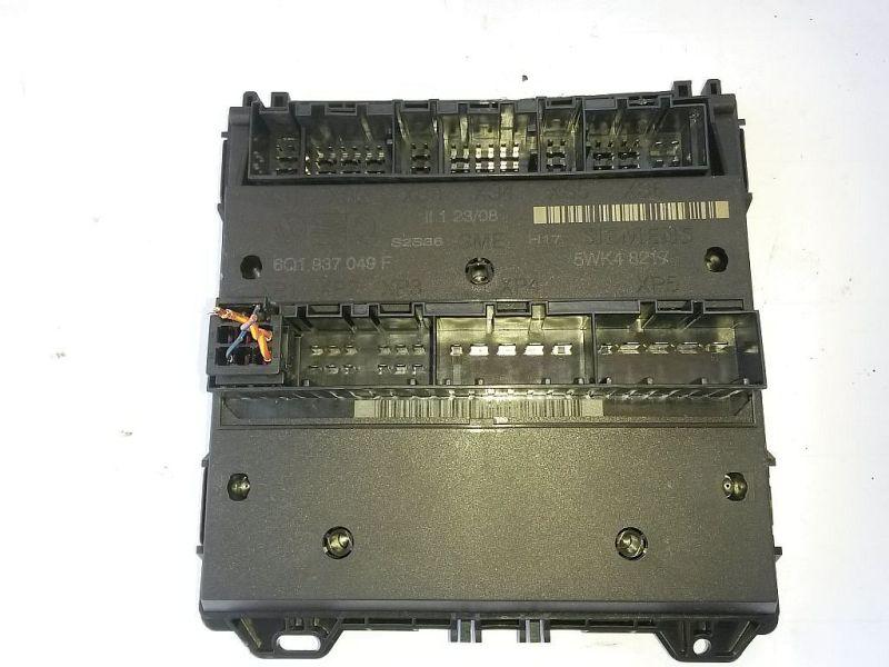 Steuergerät Zentralverriegelung Komfortsteuergerät VW POLO (9N_) 1.2 12V 51 KW