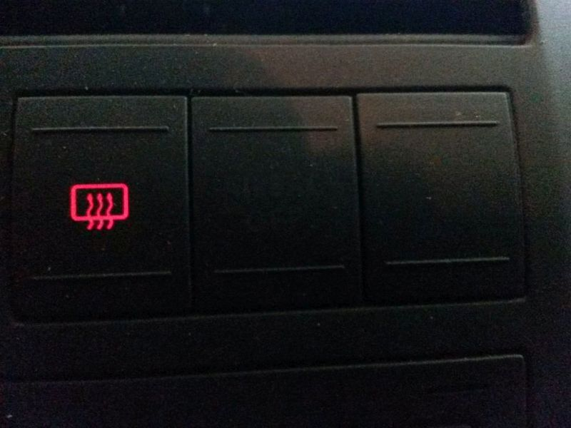 Schalter Heckscheibe  VW POLO (9N_) 1.2 12V 51 KW