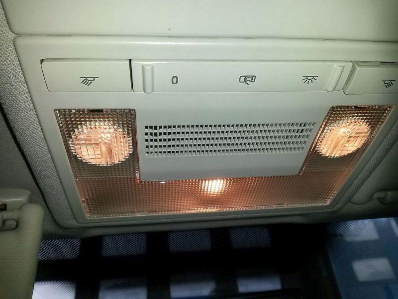 Innenleuchte Innenbeleuchtung vorne mitte VW POLO (9N_) 1.2 12V 51 KW