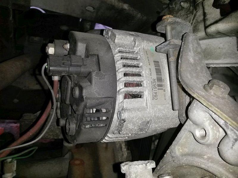 Lichtmaschine  RENAULT KANGOO EXPRESS (FC0/1_) D 55 1.9 40 KW