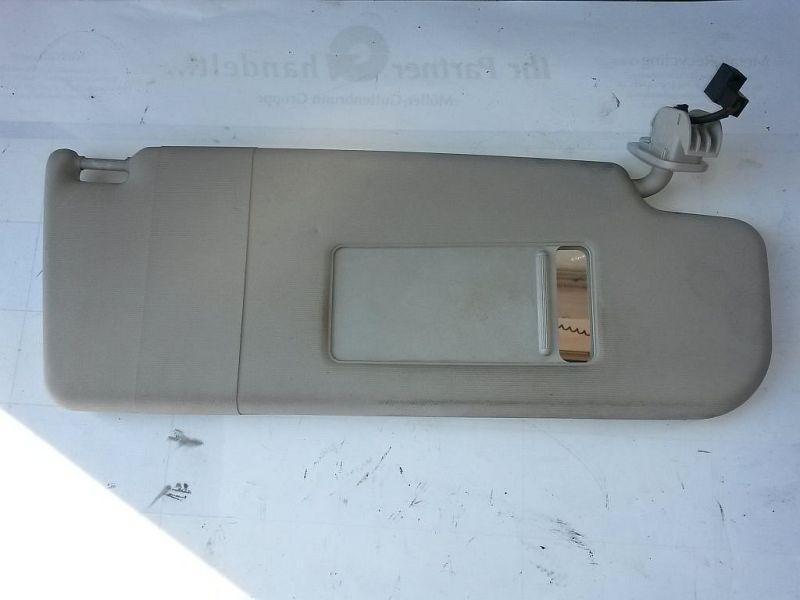 Sonnenblende rechts mit Beleuchtung VW PASSAT VARIANT (3B6) 1.9 TDI HIGLINE 96 KW