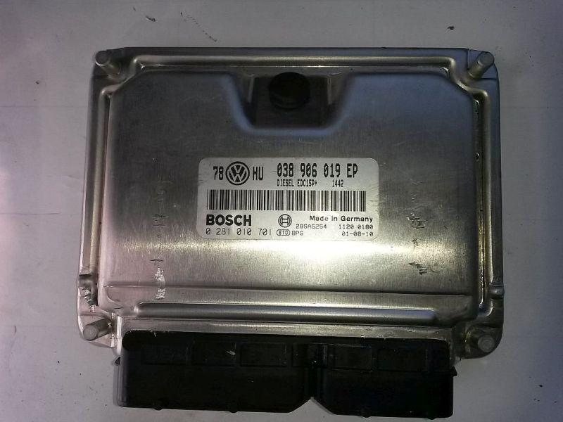 Steuergerät Motor  VW PASSAT VARIANT (3B6) 1.9 TDI HIGLINE 96 KW