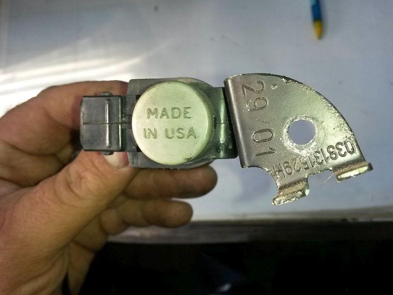 Magnetventil Turbolader  VW PASSAT VARIANT (3B6) 1.9 TDI HIGLINE 96 KW