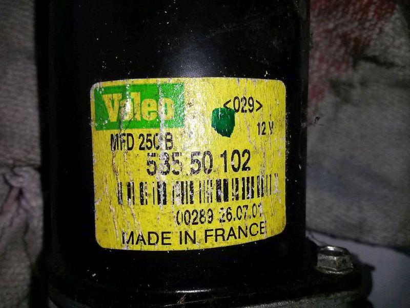 Wischermotor vorne  RENAULT KANGOO EXPRESS (FC0/1_) D 55 1.9 40 KW