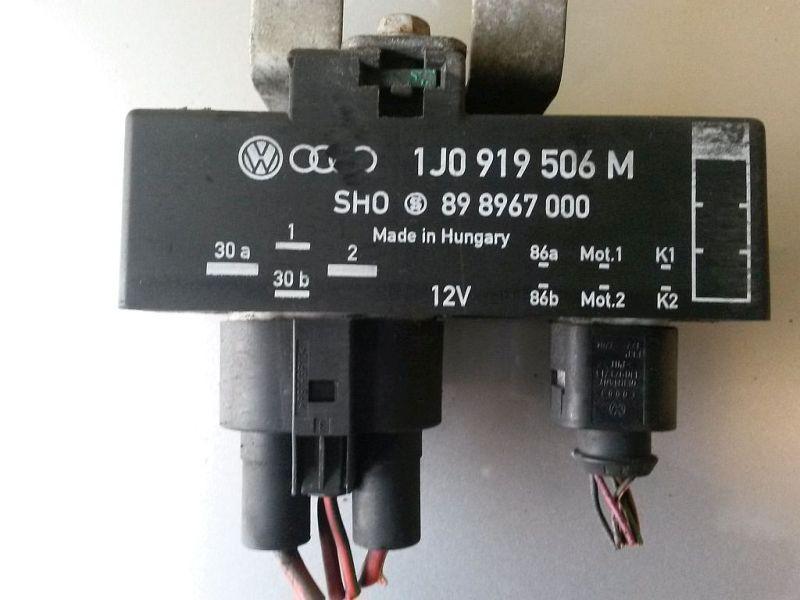 Lüftersteuergerät  2091 IBIZA IV (6L1) 1.2 12V 51 KW
