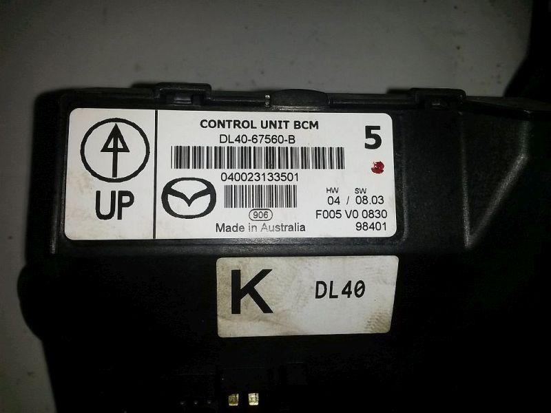 Steuergerät Zentralverriegelung Komfortsteuergerät MAZDA 2 (DE) 1.3 55 KW