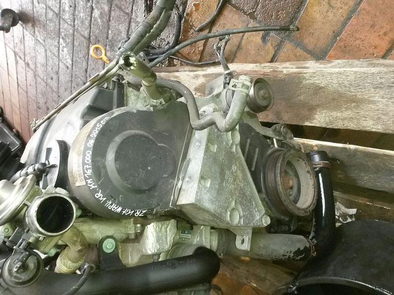 Motor ohne Anbauteile SKODA FABIA COMBI (6Y5) 1.9 TDI