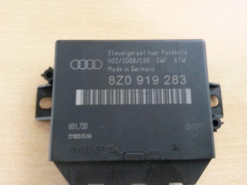 Steuergerät Einparkhilfe AUDI A6 AVANT (4B, C5) 2.5 TDI QUATTRO
