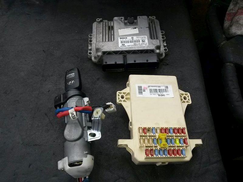 Steuergerät Motor SteuergerätesatzHYUNDAI I30 (FD) 1.6 CRDI