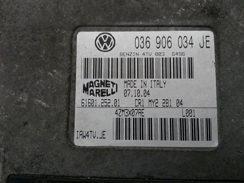 Steuergerät Motor SKODA FABIA (6Y2) 1.4 16V